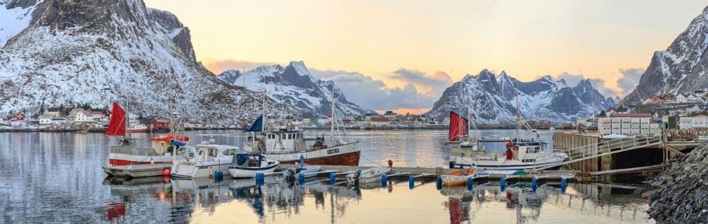 Norweigian Fishing Village