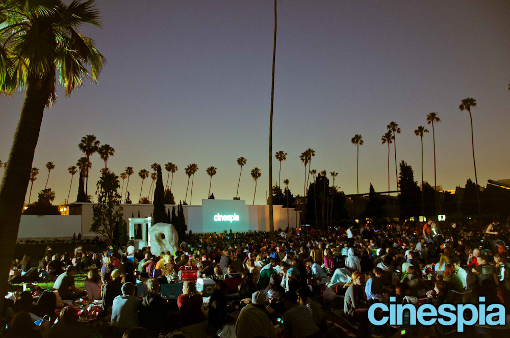 Cinespia Hollywood Forever Cemetery in California