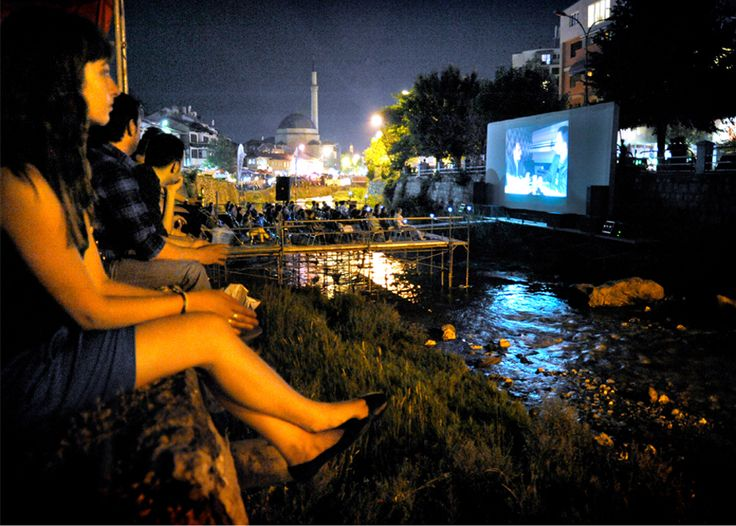 The Riverbed Cinema in Prizren, Kosovo
