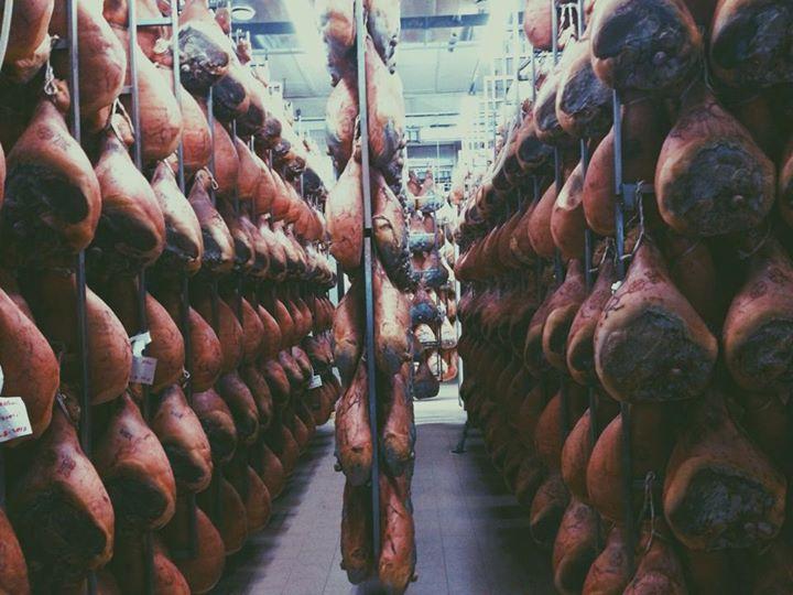 so much parma ham