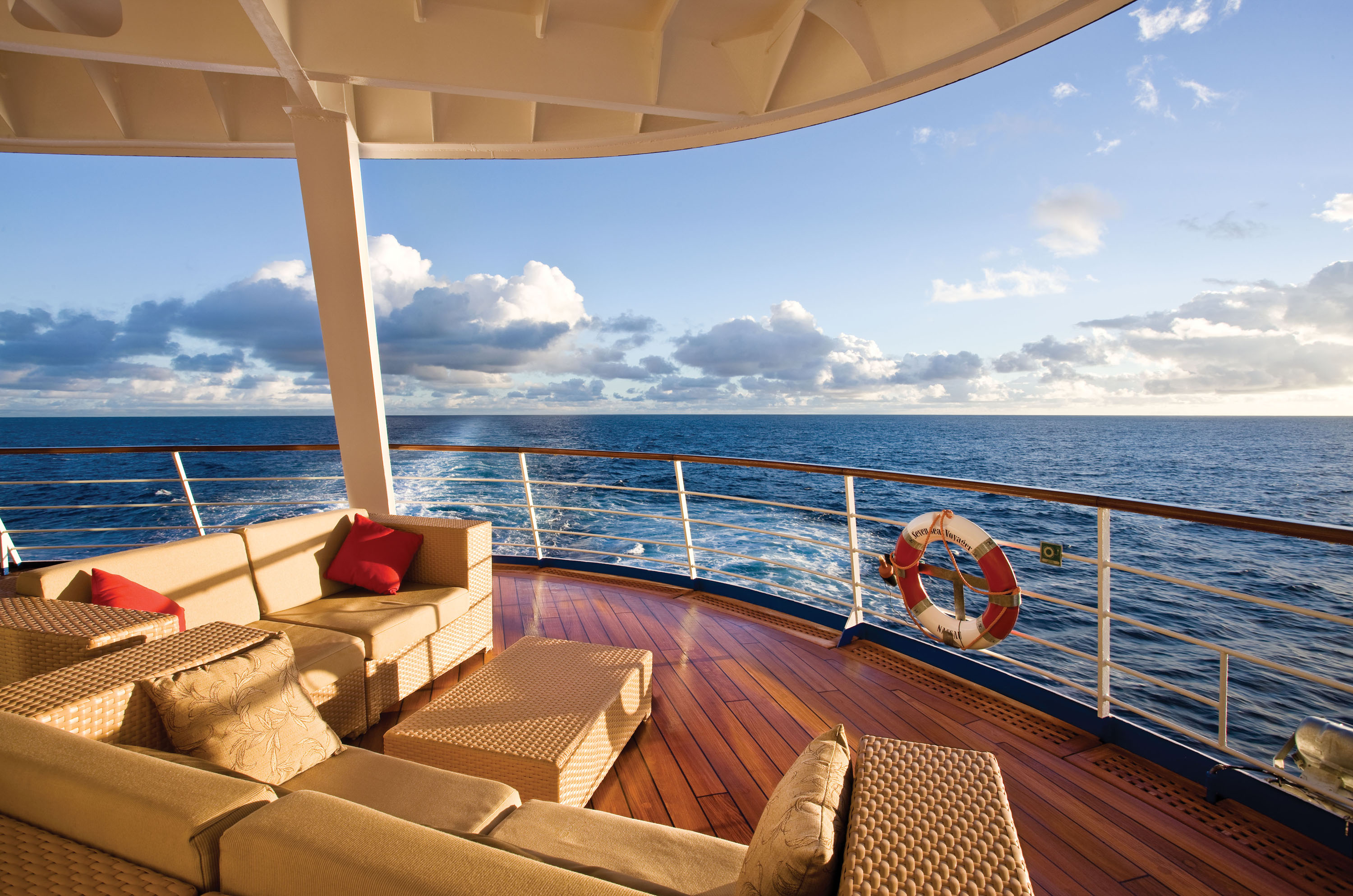 Outside Aft Deck - Deck 5 Seven Seas Voyager - Regent Seven Seas Cruises