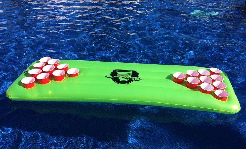 beer pong floater