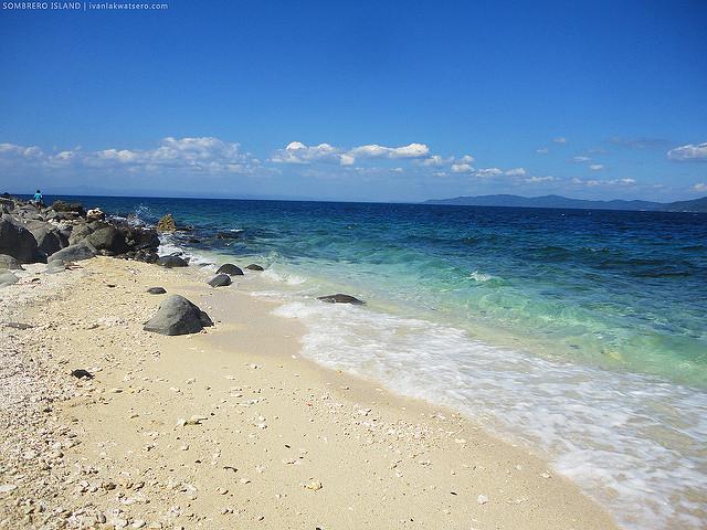 Sombrero Island Batangas Philippines
