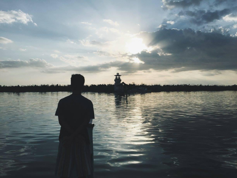02 Sunset boat ride to the Tabuk Marine Park and Sanctuary
