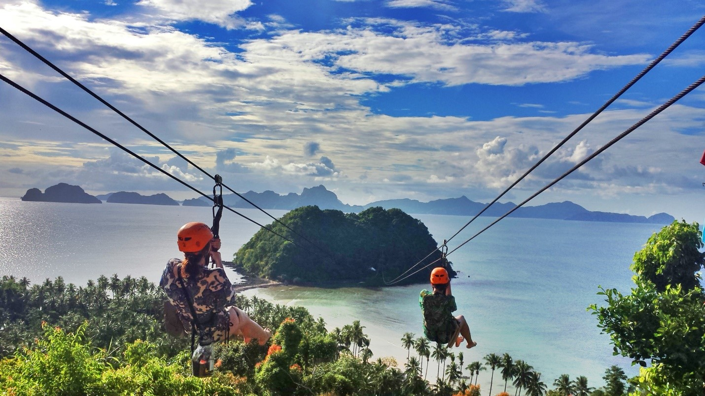 the most scenic places in the philippines to zip line