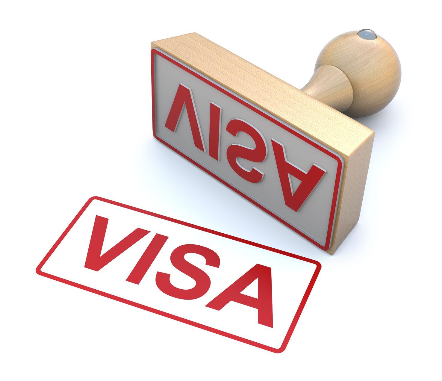 10831740 - rubber stamp - visa