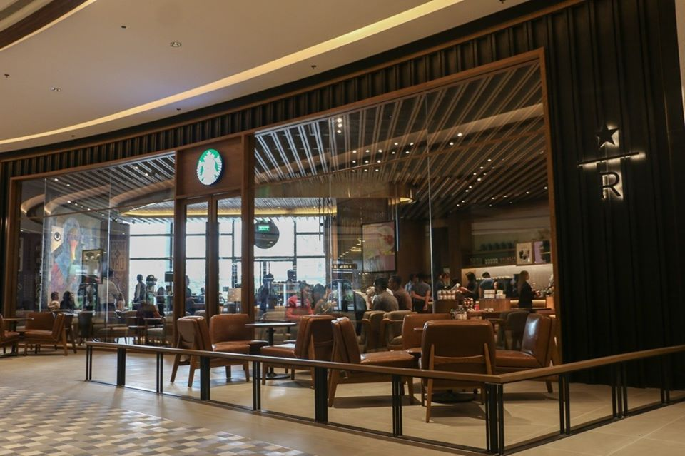 Beautiful Starbucks branch - Starbucks Reserve The Assembly Grounds