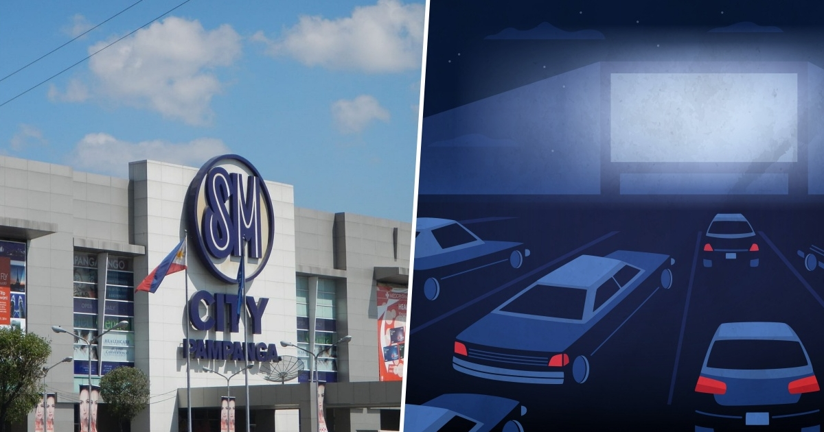 SM Pampanga Drive-In Cinema