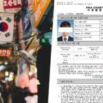 south korea visa grant notice