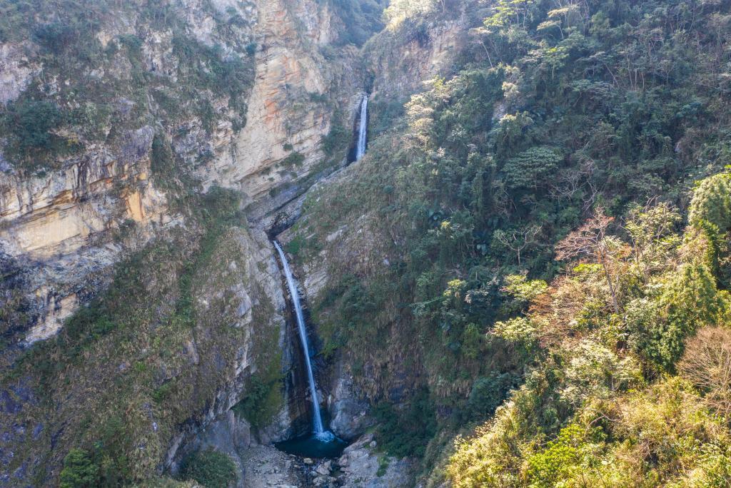 Shuanglong Waterfalls