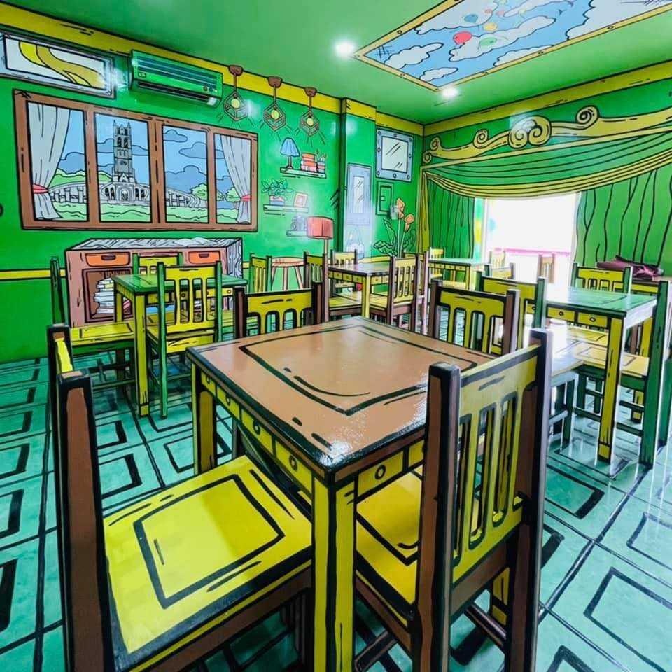 Komiks 2D Art Cafe Bulacan