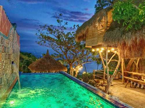 Tree House by the ocean with pool - pool
