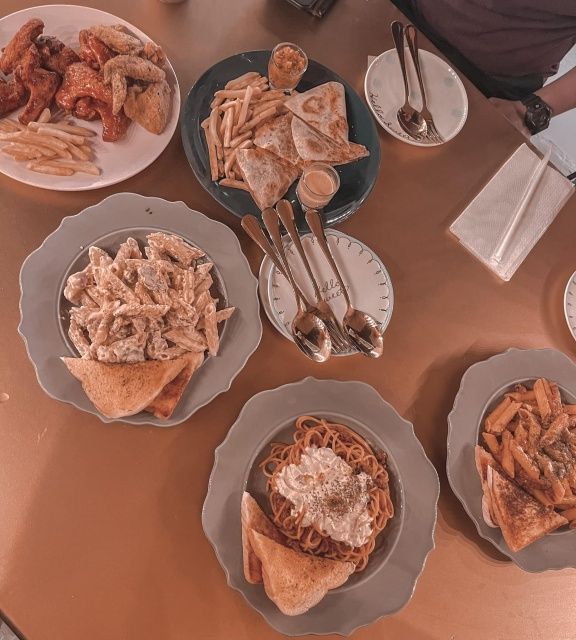 Cafe Serendipitale Pasta and Sandwich Dishes