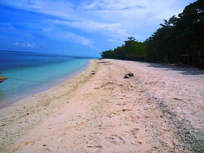 pink beach Zamboanga