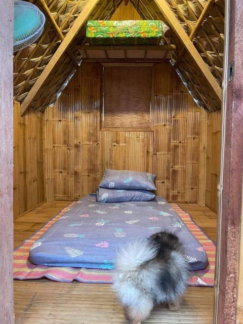 Villa Tomasa Nipa Huts interior