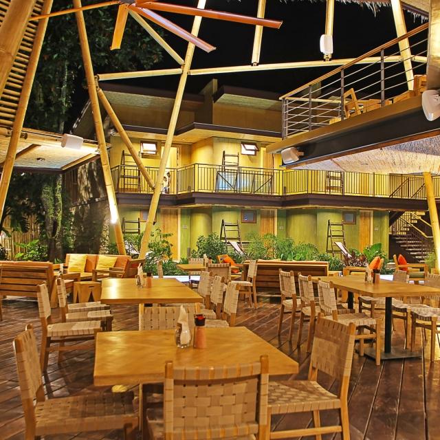 Lamari Siargao restobar area for lounging