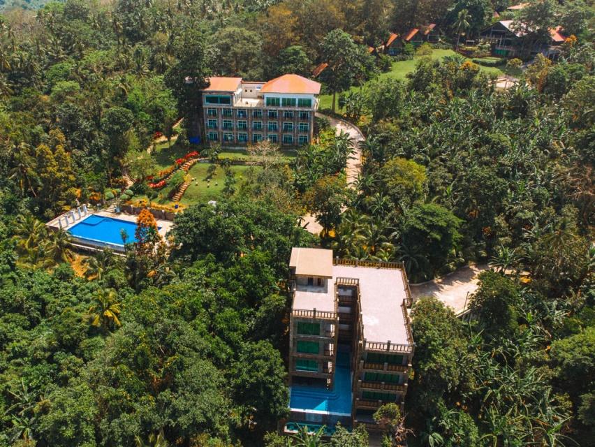 resort overlooking