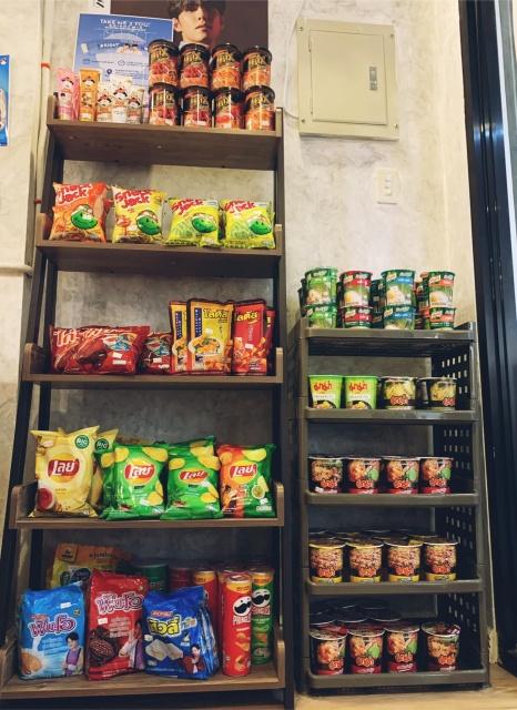 snacks and food
