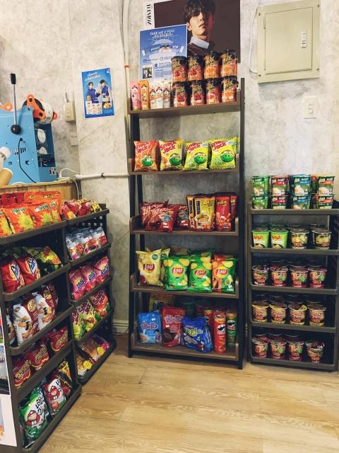 food and snacks
