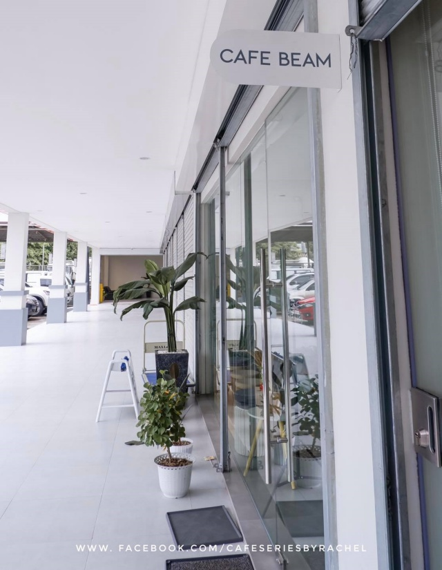 cafe beam entrance